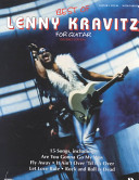 Best of Lenny Kravitz for Guitar