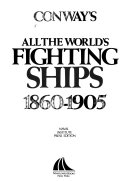 Conway s All the World s Fighting Ships  1860 1905 Book