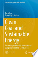 Clean Coal and Sustainable Energy