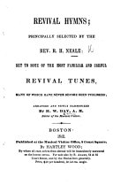 Pdf Revival Hymns, principally selected by ... R. H. N. Set to some of the most familiar and useful revival tunes ... arranged and newly harmonized by H. W. Day, etc