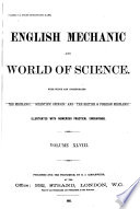 English Mechanics and the World of Science Book