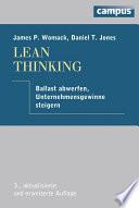 Lean Thinking  : Ballast abwerfen, Unternehmensgewinn steigern