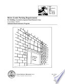 Below Grade Parking Requirements For Buildings Located In Special Flood Hazard Areas In Accordance With The National Flood Insurance Programrequirements Book PDF