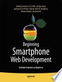 Beginning Smartphone Web Development Book PDF