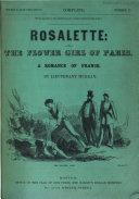 Rosalette  Or  The Flower Girl of Paris