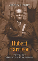 Hubert Harrison ebook
