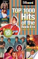 Billboard Top 1000 Hits of the Rock Era  1955 2005