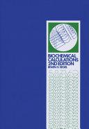 Biochemical Calculations