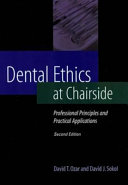 Dental Ethics at Chairside