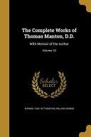 COMP WORKS OF THOMAS MANTON DD