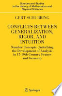 Conflicts Between Generalization, Rigor, and Intuition