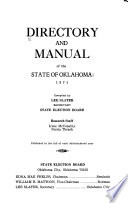 Directory and Manual of the State of Oklahoma