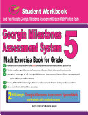 Georgia Milestones Assessment System Math Exercise Book for Grade 5
