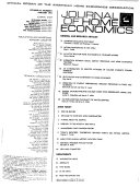 The Journal of Home Economics Book PDF