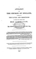 An Apology for the Church of England