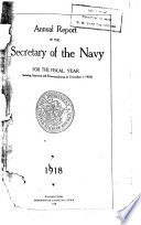 Annual Report of the Secretary of the Navy