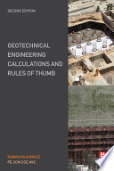 Geotechnical Engineering Calculations and Rules of Thumb Book