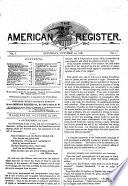 The American Register