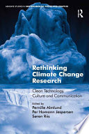 Rethinking Climate Change Research