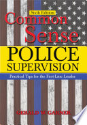 Common Sense Police Supervision