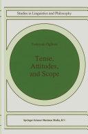 Tense, Attitudes, and Scope [Pdf/ePub] eBook