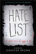 Hate List [Pdf/ePub] eBook