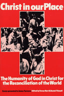 Christ in our Place: The Humanity of God in Christ for the Reconciliation of the World Pdf/ePub eBook