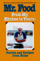 Mr  Food  from My Kitchen to Yours Book