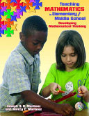 Teaching Mathematics in Elementary and Middle School