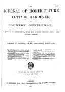 The Journal of Horticulture, Cottage Gardener, Country Gentleman