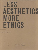 Pdf Less Aesthetics More Ethics