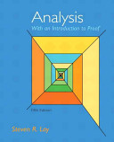 Analysis Book