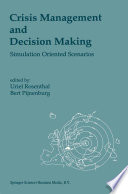 Crisis Management and Decision Making