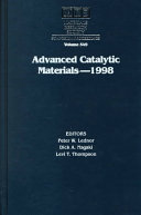 Advanced Catalytic Materials - 1998: