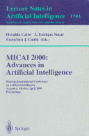 MICAI 2000  Advances in Artificial Intelligence