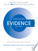 Evidence Concentrate Book