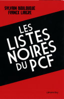 Pdf Les Listes noires du PCF Telecharger