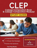 CLEP College Composition Book & College Composition Modular Study Guide