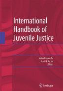 Pdf International Handbook of Juvenile Justice Telecharger