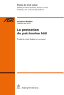 Pdf La protection du patrimoine bâti Telecharger
