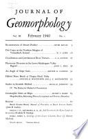 Geomorphologische Zeitschrift