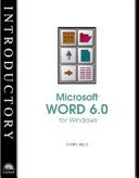 Introductory Microsoft Word 6.0 for Windows