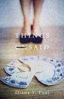 Things Unsaid Pdf/ePub eBook