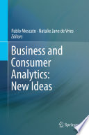 Business and Consumer Analytics  New Ideas