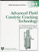 Advanced Fluid Catalytic Cracking Technology Book