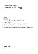 The Handbook of Economic Methodology Book