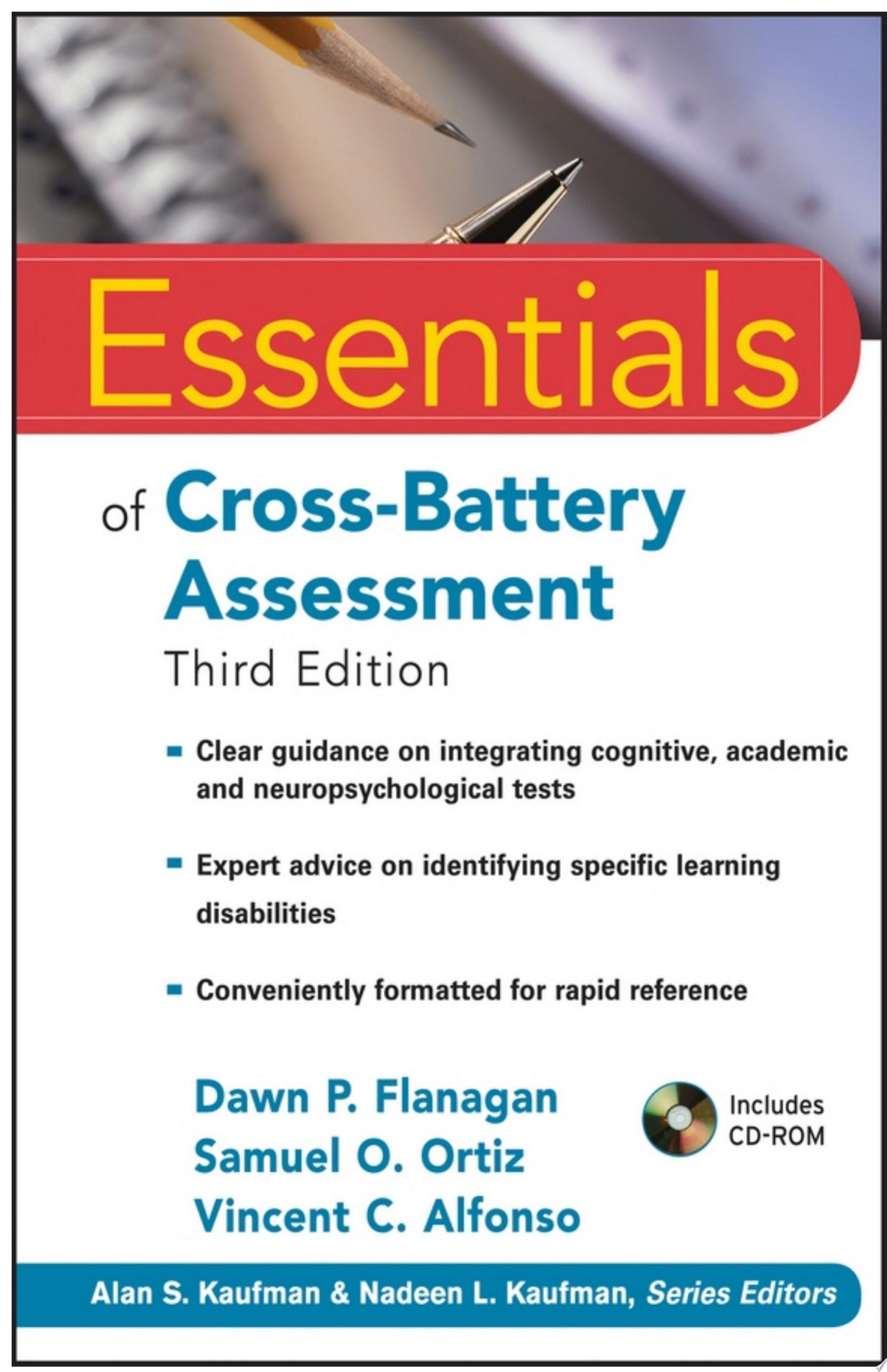 Essentials of Cross Battery Assessment
