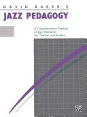 David Baker S Jazz Pedagogy Book PDF
