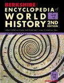 Berkshire Encyclopedia of World History, 2nd Edition, McNeil-Bently-Christian-Croiser, 2010