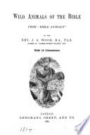 Wild Animals of the Bible Book